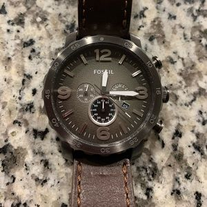 Fossil Nate chronograph watch (needs new battery)